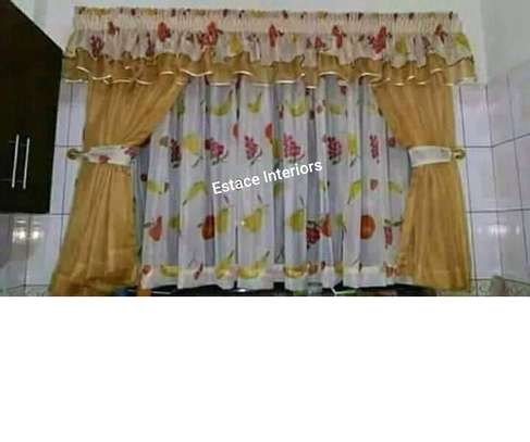 Elegant kitchen curtains image 5