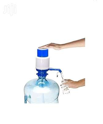 Drinking water hand press pump for bottled water image 1