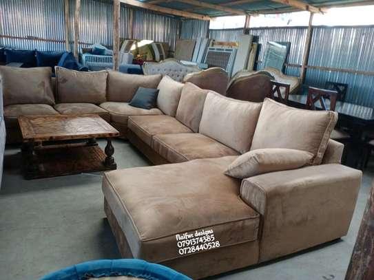 Eight seater sofas/U shaped sofas image 1