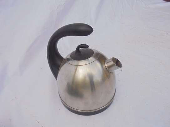 Stainless Steel Kettle (Generous)