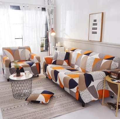 Generic Spandex Set Cover Sofa Elastic Stretch Sofa Cover 3 seater image 1