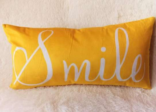 Yellow Throw Pillow Covers image 1