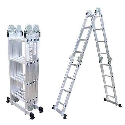 Aluminium Foldable Ladders Supplier In Kenya image 2