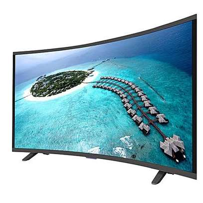 Vision digital smart android curved 43 inches brand new image 1
