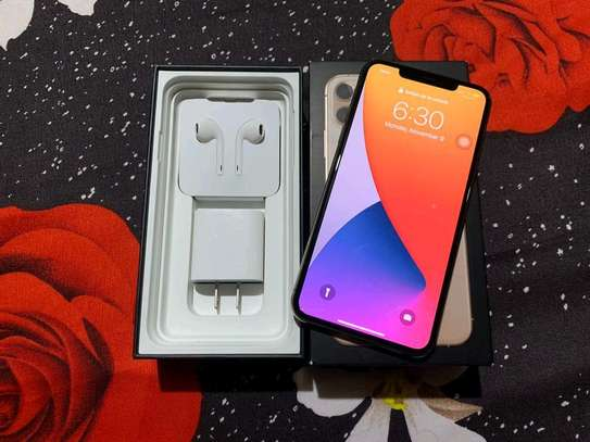 Apple Iphone 11 Pro Max  Gold ♧ 512 Gigabytes image 2