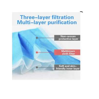 3 Ply High quality surgical masks image 4