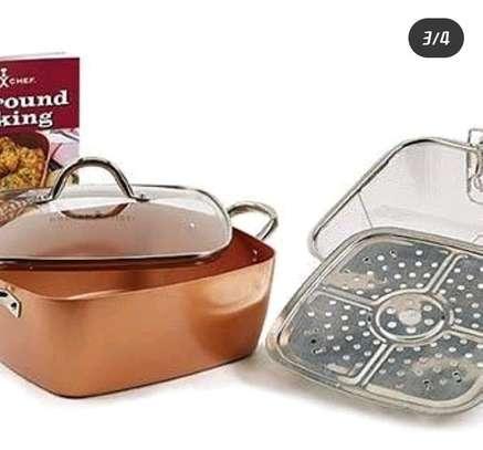Copper chefs pan image 2