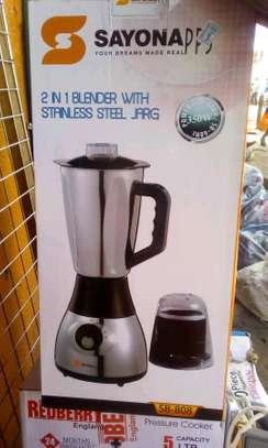 Stainless jar sayona blender