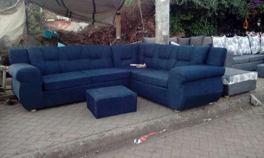 L shaped 7-seater Readily available sofa
