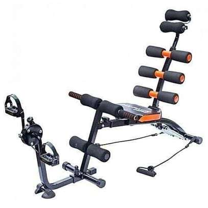 6 pack care ABS Fitness Exercise Machine  with pedals image 1