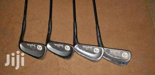 Assortment Of Golf Clubs. image 6