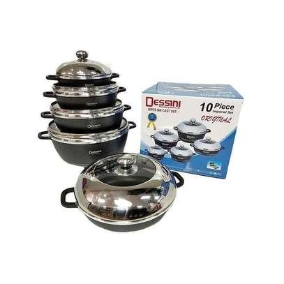 Dessini Non-stick Cooking Pots Cookware Set -10pcs image 1