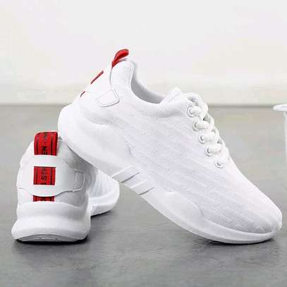 White ladies rubber shoes image 1