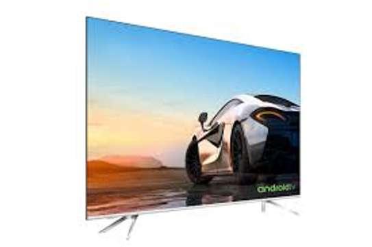 Hisense New 55 inches Android UHD-4K Smart Frameless Digital TVs image 1