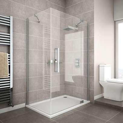 luxurious shower enclosure. image 1