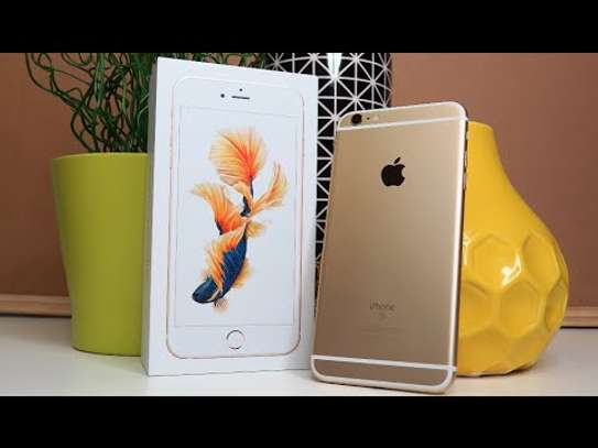 iphone 6s plus 128gb with one year apple warranty image 1