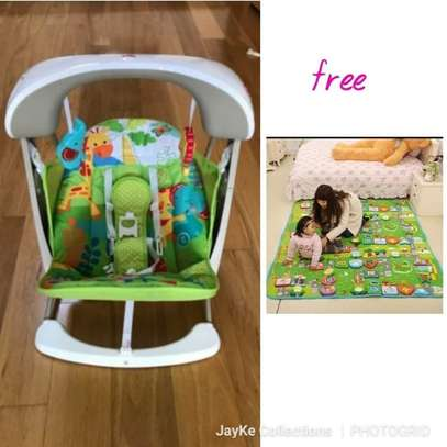 Take along Swing & Get A Crawling Mat Absolutely FREE