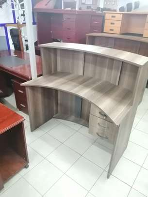 Curved office Reception desk image 15