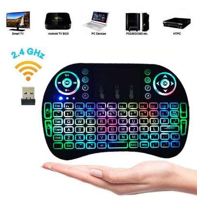 Smart TV Wireless Portable Keyboard image 1