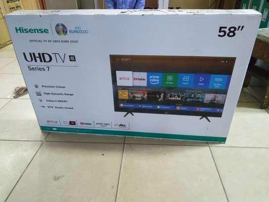 Hisense 58 inches smart 4k uhd image 1