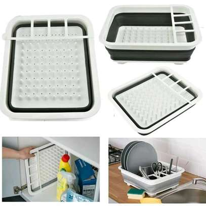 Collapsible dish drainer Draining board. image 1