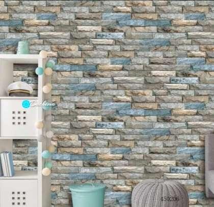 brick printed wallpapers image 1