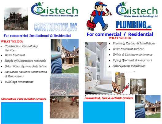 Construction Of Commercial, Residential & Institutional Properties / Plumbing