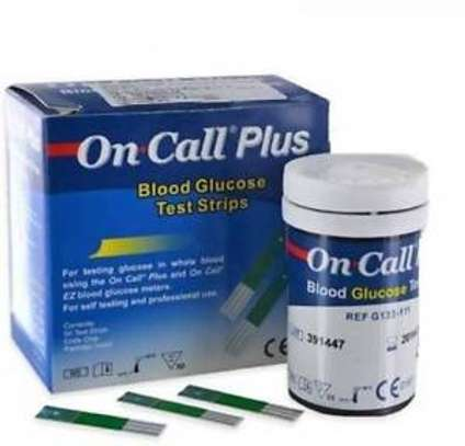 ON CALL PLUS GLUCOSE STRIPS – 50 STRIPS image 1