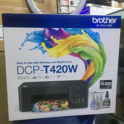 Brother DCP T420W wireless all in one printer image 1