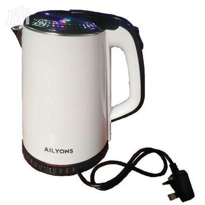Lyons Cordless Electric Kettle 1.8 Litres White image 3