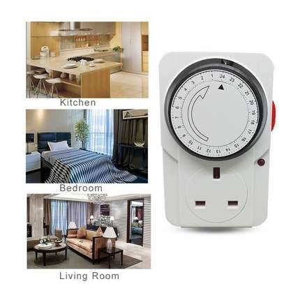 3200W Mechanical Timer for Electrical and Electronic Appliances image 4