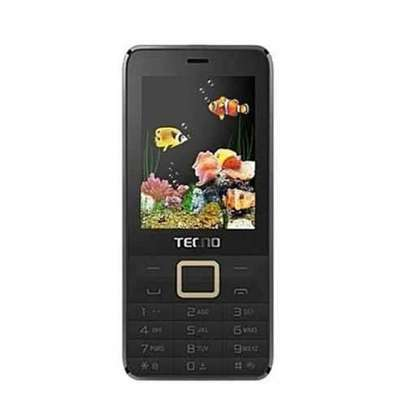 Tecno T474 Dual Sim, 2.8'' , Big Screen Display FM With BT -black image 1