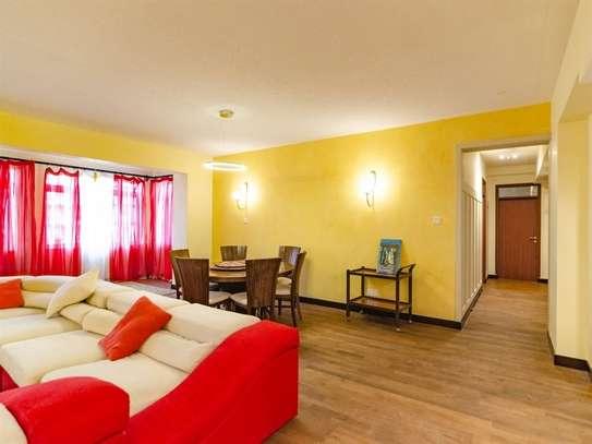 Furnished 3 bedroom apartment for rent in Westlands Area image 2