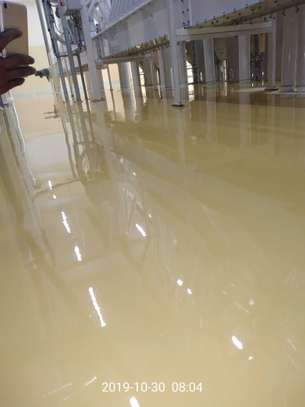 Fossilcote Floor installation for Ajabu Flour Mill Co. image 7