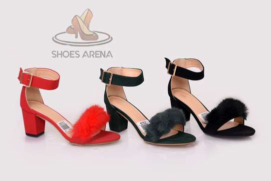 Suede Chunky heels image 3