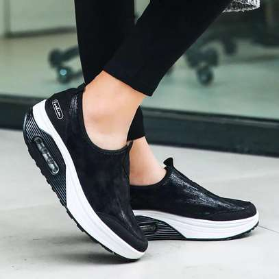 Latest lady sneakers image 1