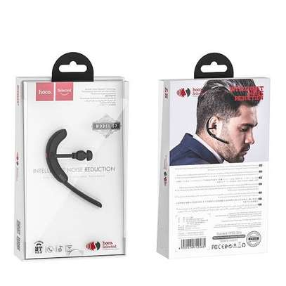 hoco. S7 Delight wireless headset single ear earphone with mic image 1