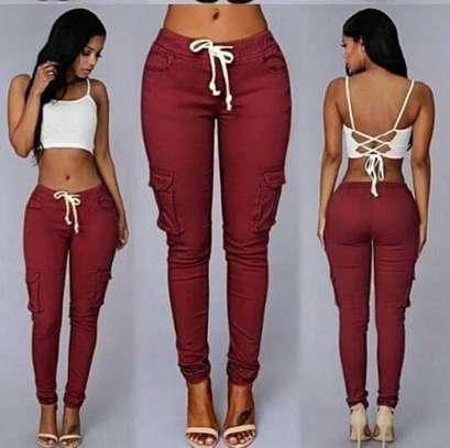 Amori Ladies Cargo Pants image 1