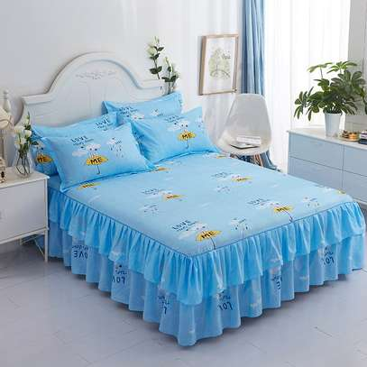 ELEGANT BED SKIRT FOR YOUR ROOM image 6