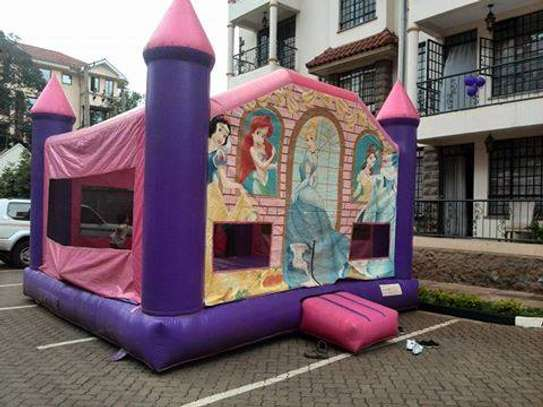 we hire bouncing castles,trampolines,facepainting and clown image 3