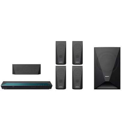 Sony 1000W Home Theater System,5.1 Channel,3D Blu-ray Disc,Built-In Wi-Fi,Youtube,BDV-E3100 - Black image 3