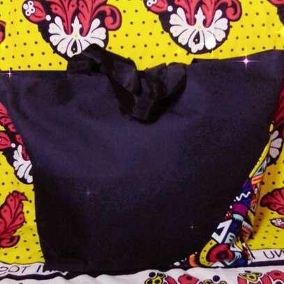 QUALITY BAGS WITH KITENGE(ANKARA) DESIGN image 3