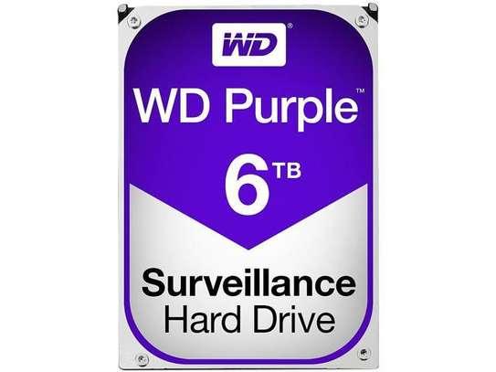 WD Purple Surveillance Hard Drive - 6 TB image 1
