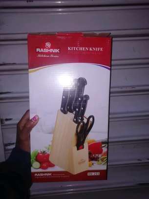 kitchen Knife Set 7pcs image 1