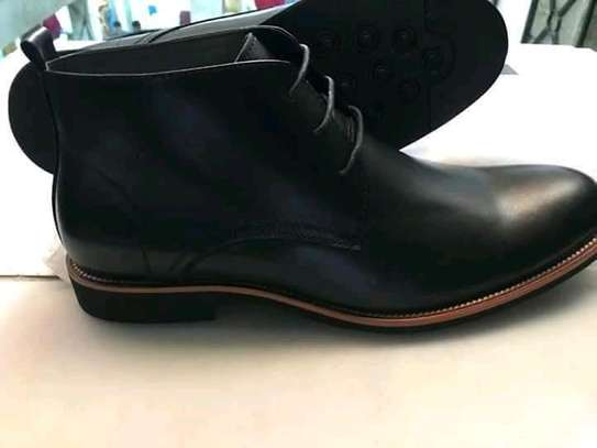 Mens leather boot's