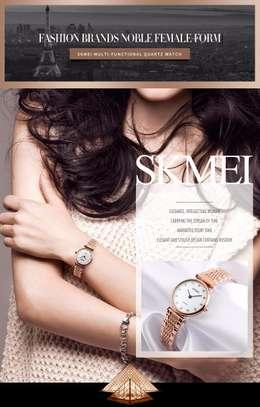 Skmei Women Fashion Luxury Gold Watch 1223 image 4
