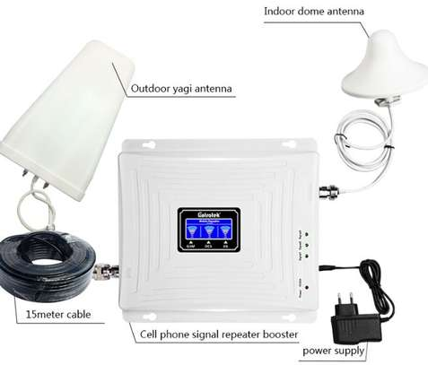 Triband Network Signal Booster 2G,3G AND 4G image 1