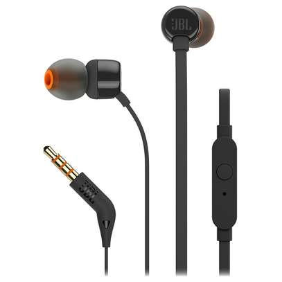 JBL Tune 110 in-ear headphones with Mic image 2