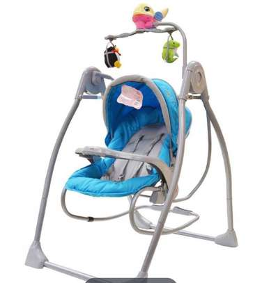 Battery operated baby swing & rocker image 1