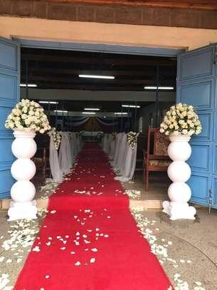 Non-Skip Heavy Duty Red Carpet For Wedding image 7